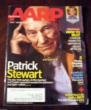 PATRICK STEWART  Captain Picard STAR TREK AARP Magazine Apr'14
