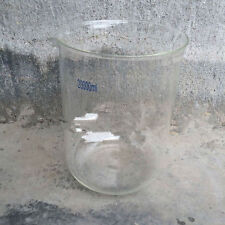 10000mL Borosilicate Glass Beaker,10Litre Low Form,Spout Mouth,New Lab Glassware