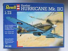 REVELL MODEL AIRCRAFT KIT 1/72 SCALE HAWKER HURRICANE MK IIC 04144 UNOPENED