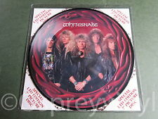 """Whitesnake Deeper the Love Unplayed 7"""" Picture Disc Mint Deep Purple"""