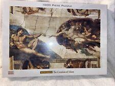 MICHELANGELO THE CREATION OF ADAM 1000 PIECE Puzzle