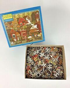 Charles Wysocki Lilac Point Glen 1000 Pc Jigsaw Puzzle 2003 Milton Bradley