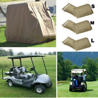 Waterproof  4 Seater Passenger Golf Cart Cover Storage  Protect Club Car,3 size