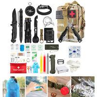 Kit d'équipement de survie d'urgence en plein air randonnée sismique militaire