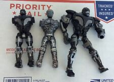 Lot Of 3 2011 JAKKS Real Steel Zeus Atom Figure *SEE PICS* BROKEN MISSING PARTS