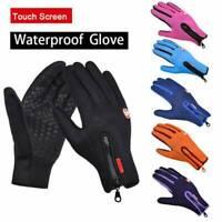 Outdoor Sport Ski Waterproof Windproof Winter Warm Mittens Touch Screen Gloves