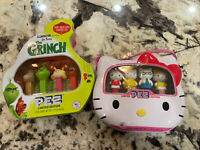 Limited Edition Hello Kitty And The Grinch Pez Box