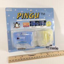 Vintage Pingu Penguin Car Mate Air Conditioner Drink Corner Holder Mount PN102