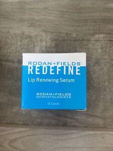 Rodan + and Fields Redefine Lip Renewing Serum PM 60 Capsules