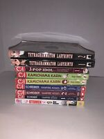 Mixed Manga 9 Lot English (Tetragrammaton,Jpop,Kamichama,Vampire Kisses,Otomen)
