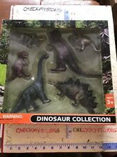 6Pc Realistic Dinosaur Wild Zoo Animal Model Figure Figurine Toy Collectible