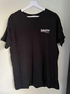 BALENCIAGA BLACK T-SHIRT / TEE
