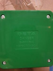 deta earth rod inspection box
