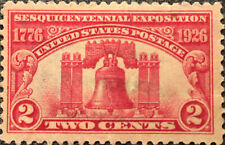 Scott #627 US 1926 2 Cent Liberty Bell Postage Stamp XF