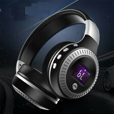 Universal Bluetooth Headset Wireless Hi-Fi Stereo Foldable Headphones Earphones