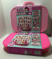 LOT OF 2 LOL Surprise Fashion Show On The Go Case Storage Playsets with LOL Doll