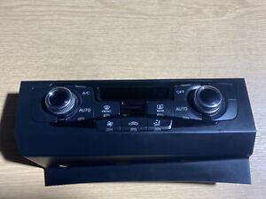 2008-2015 AUDI A4 B8 A5 8T HEATER CONTROL PANEL 8K2820043BA