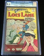 JERRY WEIST ESTATE: SUPERMAN'S GIRL FRIEND LOIS LANE #30 (DC 1962) CGC 8.0 (VF)