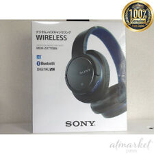 Sony Bluetooth-enabled noise canceling stereo headphones (Blue) MDR-ZX770BN-L