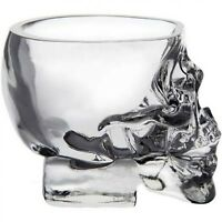 Transparent Crystal Skull Head Shot Glass Cup For Whiskey Wine Vodka Drinking