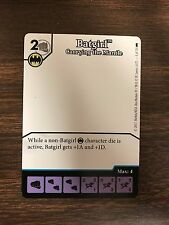Dice Masters Batgirl Carrying the Mantle Blank Art Promo NM