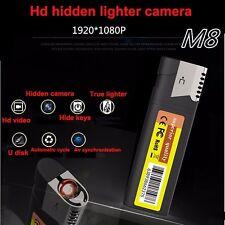HD 1080P lighter hidden camera Recorder DVR mini DV security SPY micro camerra