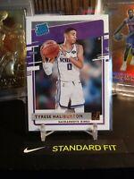 2020-21 Panini Donruss Tyrese Haliburton Rated Rookie Sacramento Kings RC