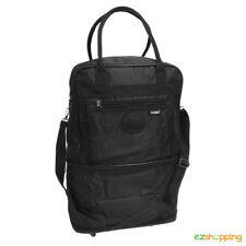 Brand New Expandable Zip Travel Carry Spacious Storage Tote with Wheels