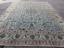 Vieux Fait Main Traditionnel Persan Tapis Oriental Laine Vert Grand Tapis 405x320cm