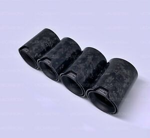 UKCARBON Black FORGED Carbon Fibre Exhaust Tips for BMW M2 M3 M4 F87 F80 F82 F83