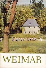Weimar - ein Bildband / Heimatbuch über die Universitätsstadt, 1967
