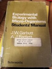 Experimental Biology with Micro-Organisms - 1st UK Edition 1972 PB