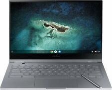 "Samsung - Galaxy 13.3"" 4K Ultra HD Touch-Screen Chromebook - Intel Core i5 - ..."