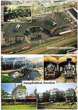 AK, (2), Dresden, Dresdner Dampflokfest, 1995 bzw. 2000