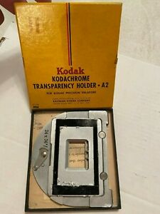 Kodak  Kodachrome Transparency Holder  A2   A1028