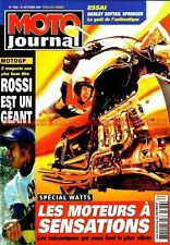 MOTO JOURNAL 1636 Test HARLEY DAVIDSON 1450 FLSTSCI Softail Springer DUCATI 999