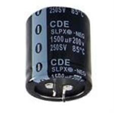 5) Aluminum Electrolytic Capacitors - Snap In 3300uF 100V 20% 85C