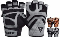 RDX Weight Lifting Gloves Training Gym Gloves Fitness Workout S12 AU