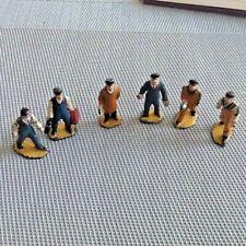 Hornby 0 Gauge Modelled Miniatures X 6 No.4 Engineering Staff