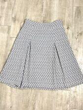 St. John Sport Womens Flare Skirt Light Blue Size 6