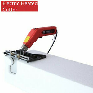 1PC Large Groove+110V Heat Wire Floor knife Cutting Tools Electric Foam Cutter