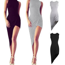 Unbranded Cowl Neck Party Sleeveless Dresses for Women