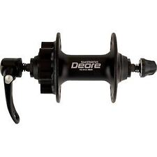 Shimano Deore HB-M525 Deore disc front hub, black 36 hole black