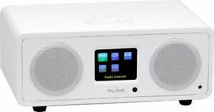 Digital Radio Red Line Dab Play R3 - BT 90A Satin White - Wifi Spotify Internet