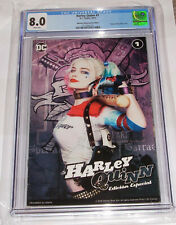 RARE DC Harley Quinn 1 CGC 8.0 Mexican Special Edition Margot Robbie Photo Cover