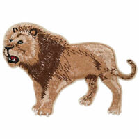 "#2996 2-1//2/"" Cartoon Lion Embroidery Iron On Applique Patch"