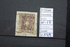 FRANCOBOLLI ASI N°17 TOSCANA USATI  (F72549)