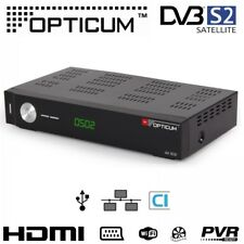 Opticum HD AX 502 HD SAT Receiver mit LAN ohne PVR HDMI USB LAN CI CX