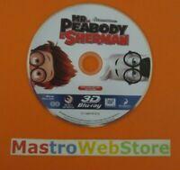 MR. PEABOY E SHERMAN - BLU-RAY 3D - solo disco no cover [dv38]