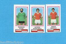PANINI CALCIATORI 1978/79-Figurina n.434- PILONI+AGOSTINELLI+BUCCILLI-RIMINI-Rec